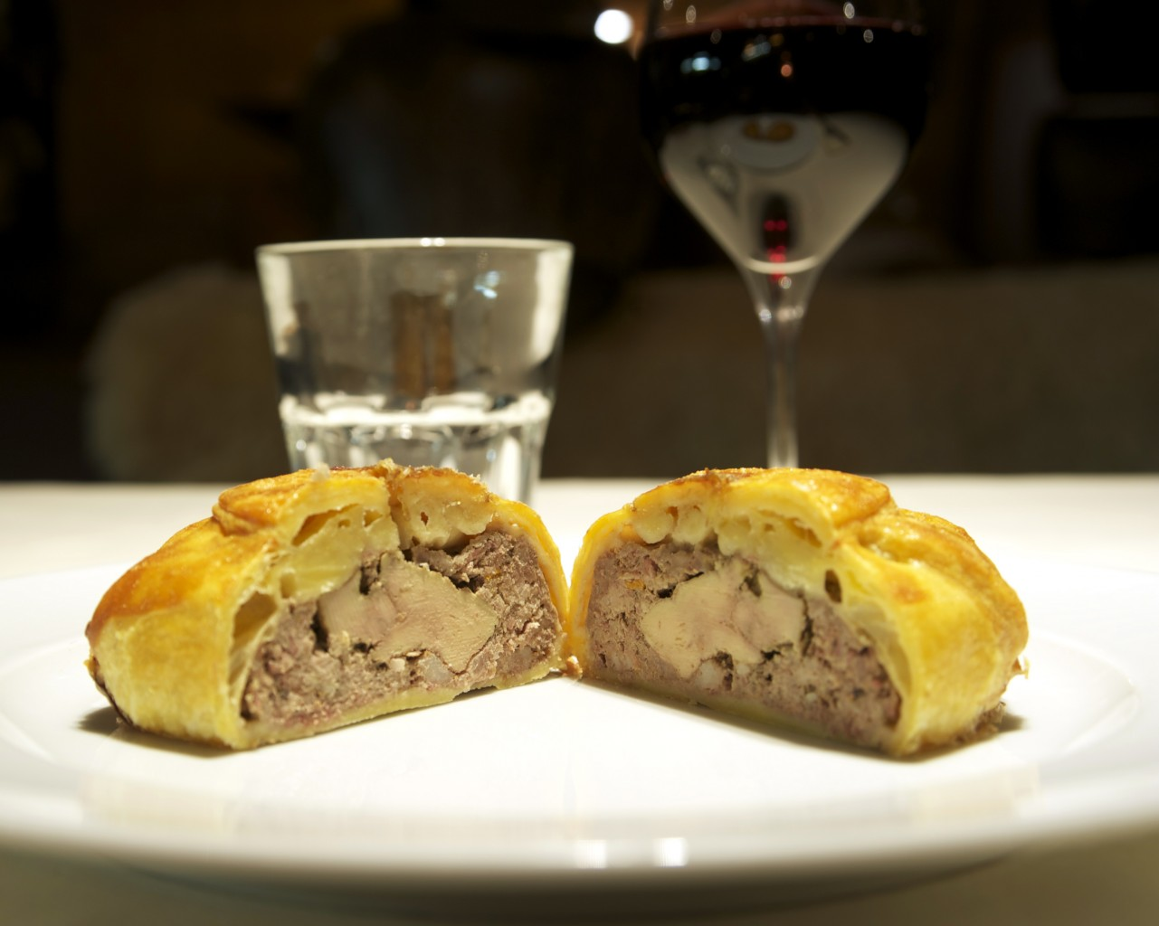 Tourte gibier/foie gras